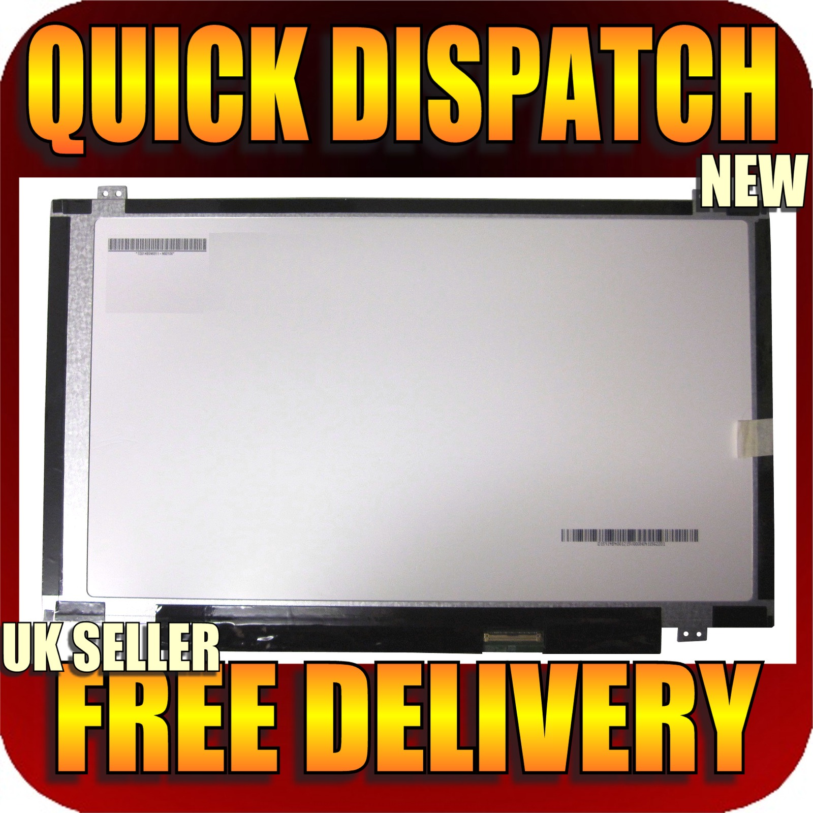 "new hp pavilion chromebook 14-c001sa laptop screen 14"" led backlit"
