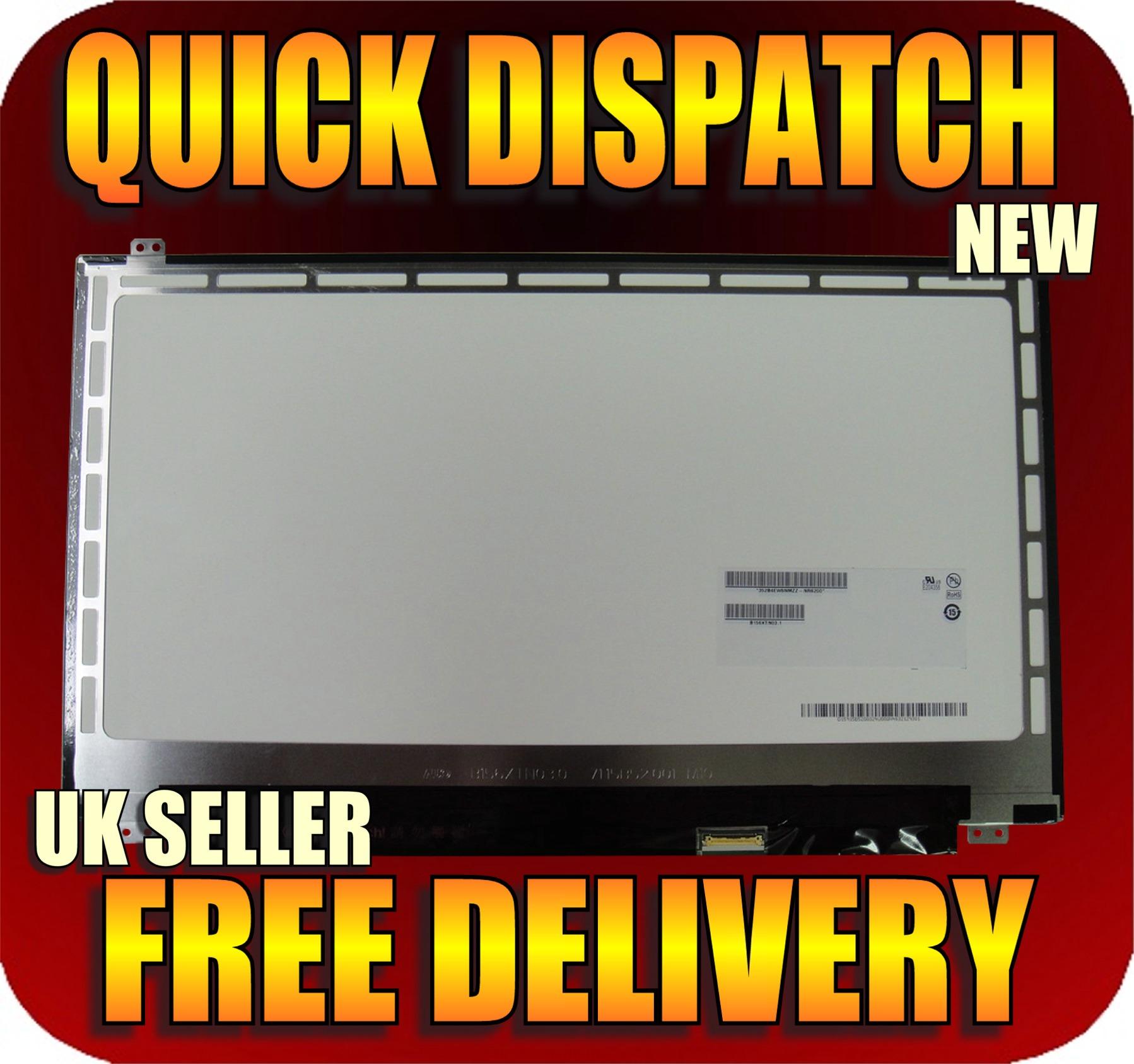 "new fujitsu lifebook a555/g 15.6"" led lcd notebook screen wxga hd"
