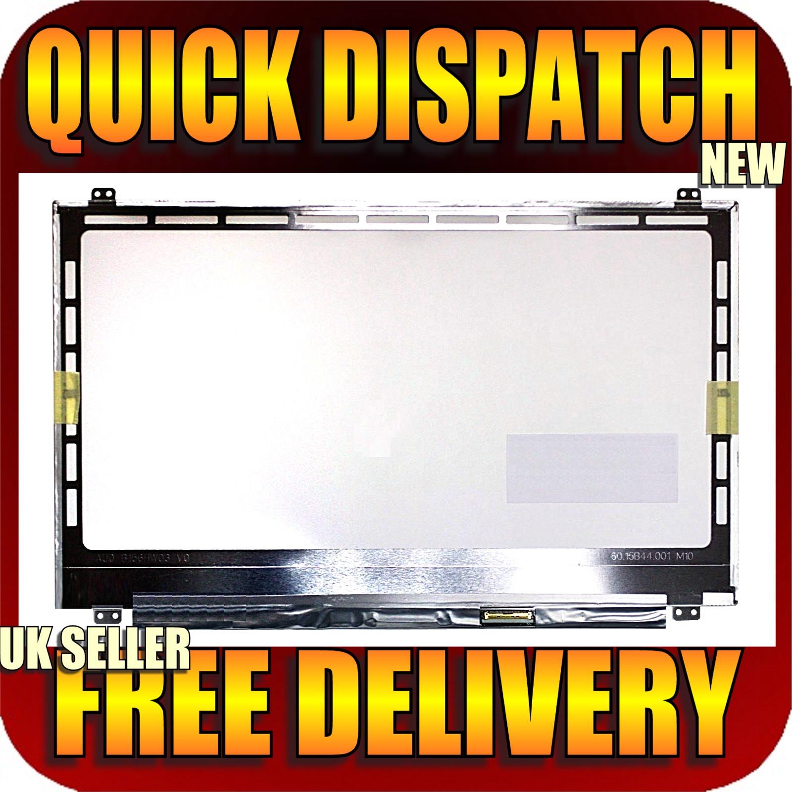 "replacement boehydis nt156whm-n22 edp laptop screen 15.6"" led hd"