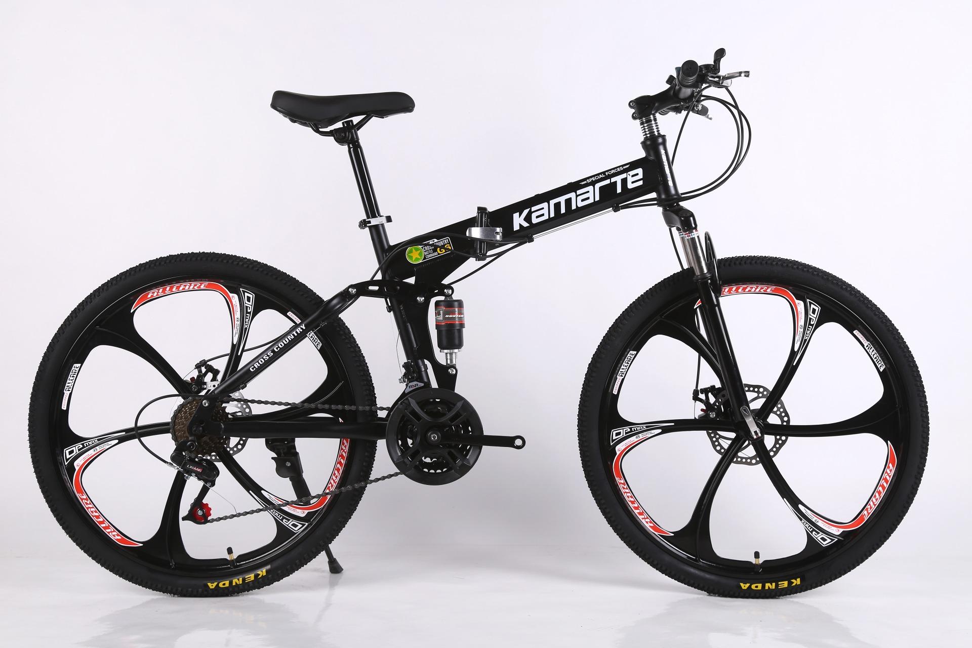 Kamarte Cross Battle Comand G6 26″ Folding Mountain Bike ...