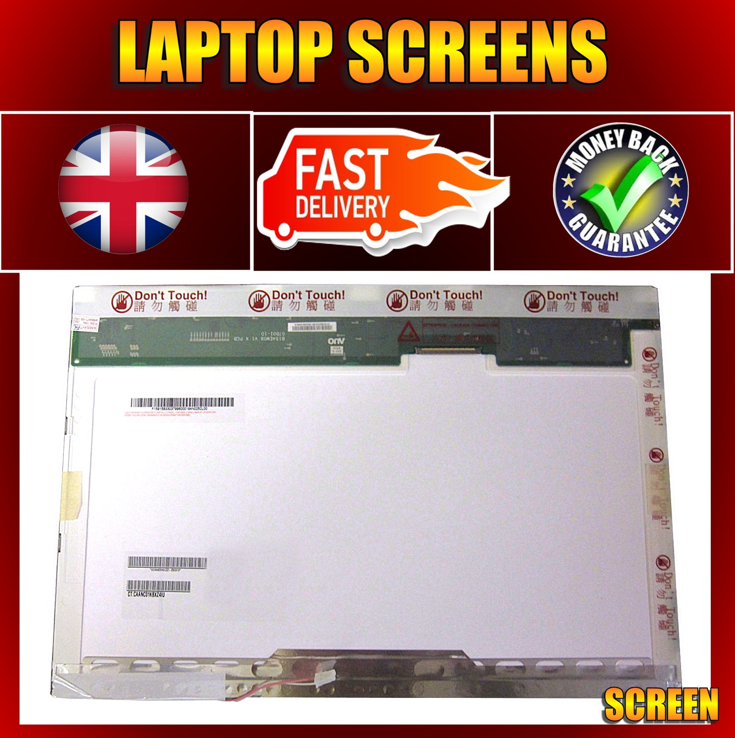 TFT-SCREEN-FOR-ADVENT-QC430-15-4-GLOSSY-LAPTOP-LCD-NEW