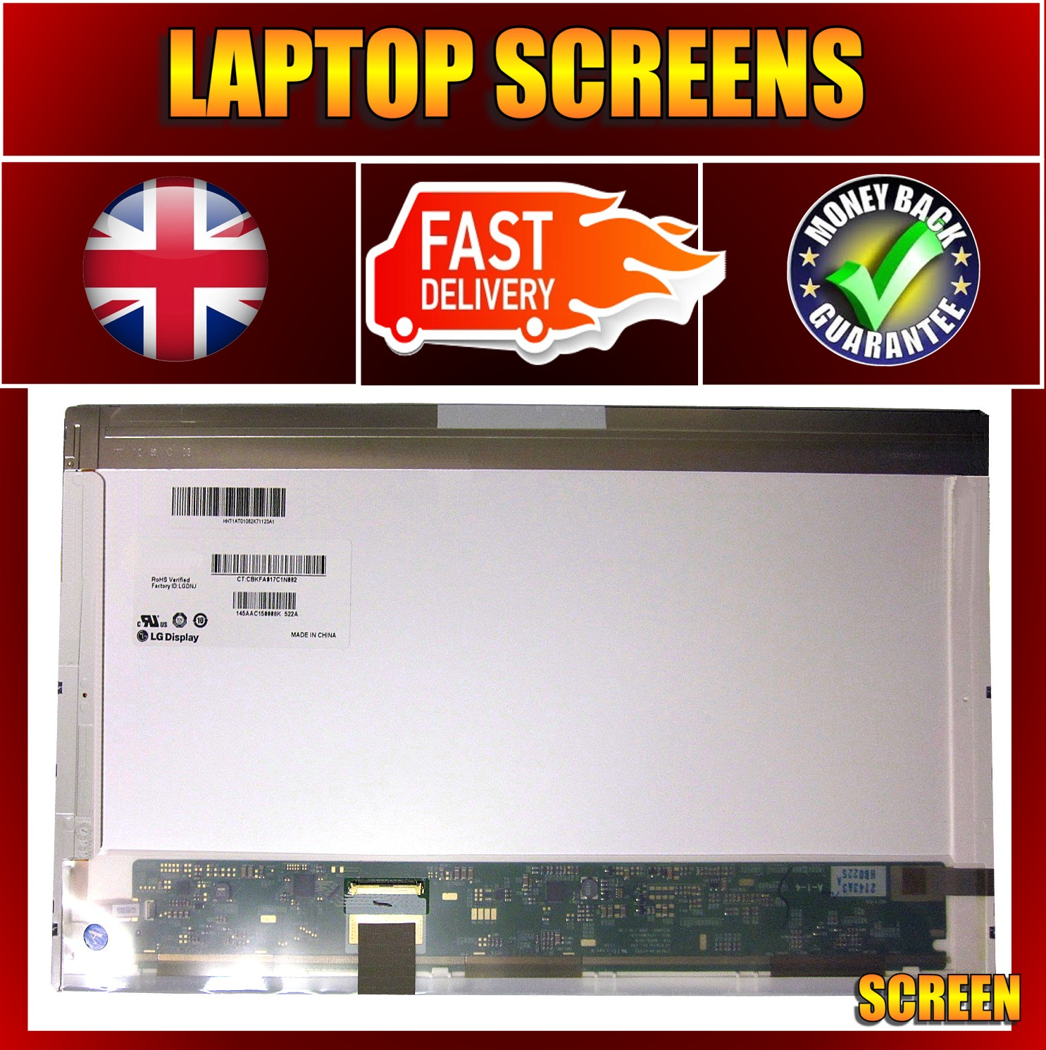 "ACER ASPIRE 7551 7551G 17.3"" LED LAPTOP SCREEN"